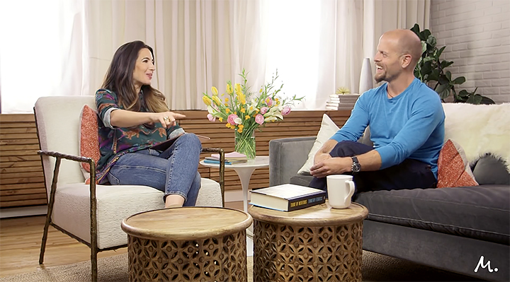 Tim Ferriss talks to Marie Forleo