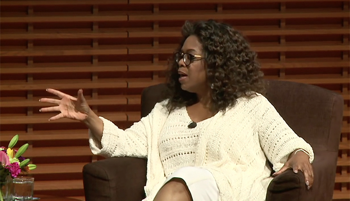 Oprah Winfrey at Stanford School of Business