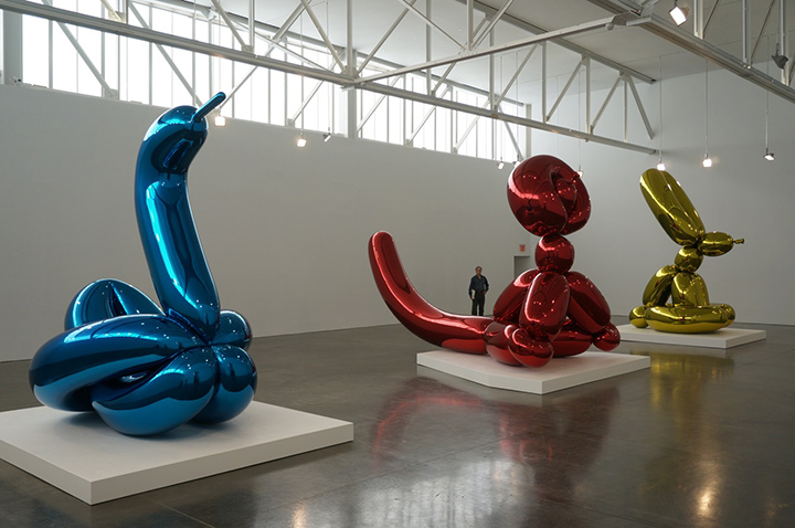 Jeff Koons at Gagosian