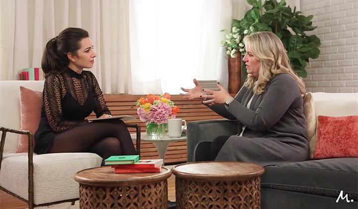 Мари Форлео разговаря с Шерил Стрейд